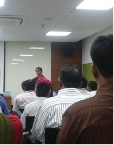 Welcome address by Ms. Krishna Padia, Green Chemistree Foundation